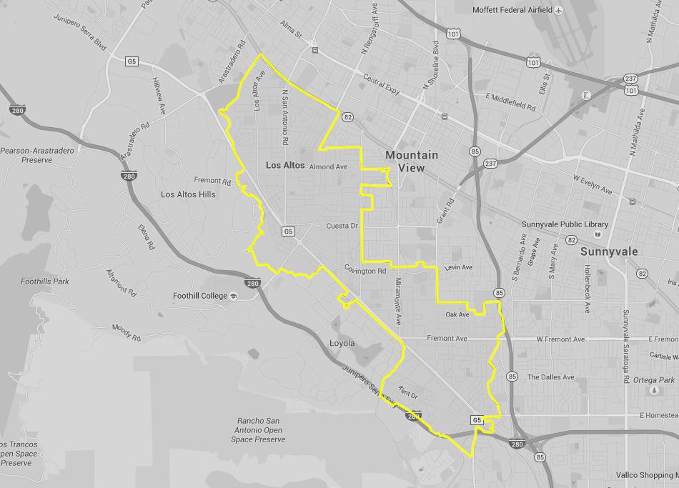 Los Altos Taxi, California | Silicon Valley Cab Rates