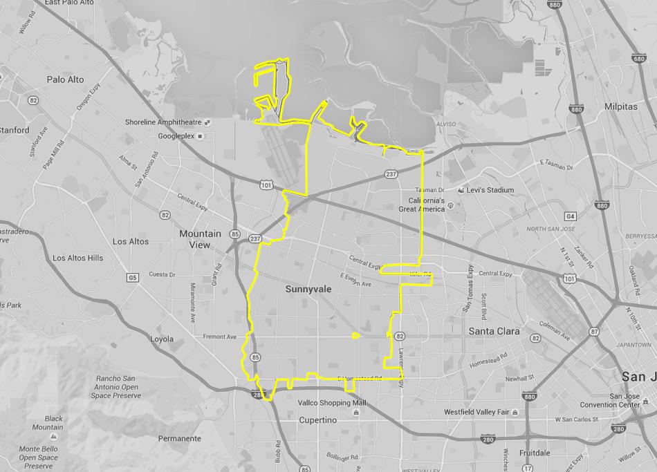 Sunnyvale - Silicon Valley Yellow Checker Cab